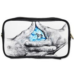Hands Horse Hand Dream Toiletries Bag (two Sides)
