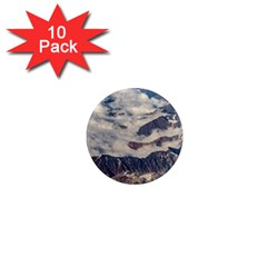 Andes Mountains Aerial View, Chile 1  Mini Magnet (10 Pack)