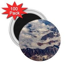 Andes Mountains Aerial View, Chile 2 25  Magnets (100 Pack)
