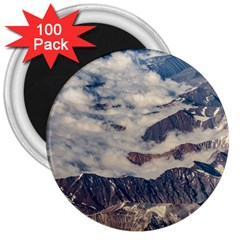 Andes Mountains Aerial View, Chile 3  Magnets (100 Pack)