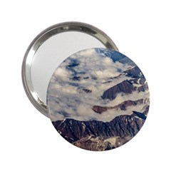 Andes Mountains Aerial View, Chile 2 25  Handbag Mirrors