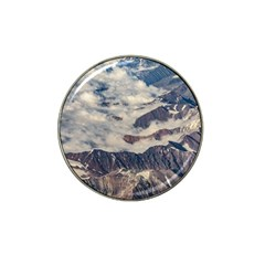 Andes Mountains Aerial View, Chile Hat Clip Ball Marker