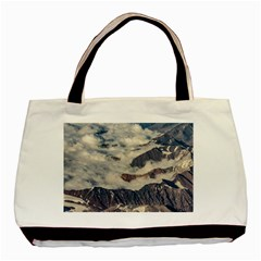 Andes Mountains Aerial View, Chile Basic Tote Bag