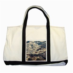 Andes Mountains Aerial View, Chile Two Tone Tote Bag