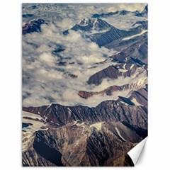 Andes Mountains Aerial View, Chile Canvas 12  X 16