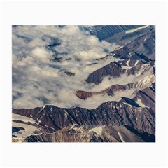 Andes Mountains Aerial View, Chile Small Glasses Cloth (2 Sides)