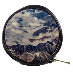 Andes Mountains Aerial View, Chile Mini Makeup Bag