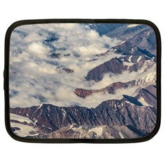 Andes Mountains Aerial View, Chile Netbook Case (xxl)