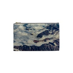 Andes Mountains Aerial View, Chile Cosmetic Bag (small)