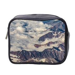 Andes Mountains Aerial View, Chile Mini Toiletries Bag (two Sides)