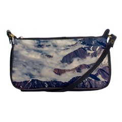 Andes Mountains Aerial View, Chile Shoulder Clutch Bag