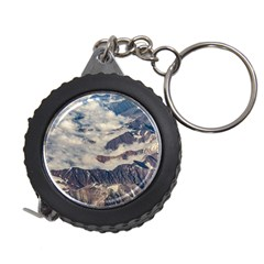 Andes Mountains Aerial View, Chile Measuring Tape