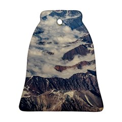 Andes Mountains Aerial View, Chile Bell Ornament (two Sides)