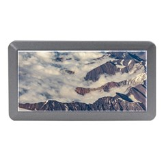 Andes Mountains Aerial View, Chile Memory Card Reader (mini)