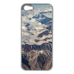 Andes Mountains Aerial View, Chile Iphone 5 Case (silver)
