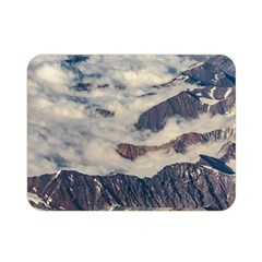 Andes Mountains Aerial View, Chile Double Sided Flano Blanket (mini)