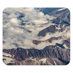 Andes Mountains Aerial View, Chile Double Sided Flano Blanket (small)