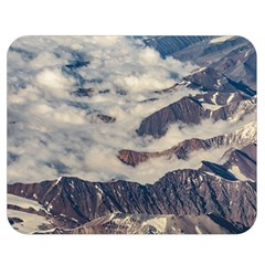 Andes Mountains Aerial View, Chile Double Sided Flano Blanket (medium)