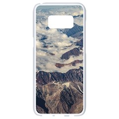 Andes Mountains Aerial View, Chile Samsung Galaxy S8 White Seamless Case