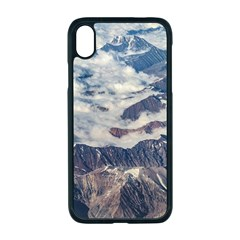 Andes Mountains Aerial View, Chile Iphone Xr Seamless Case (black)