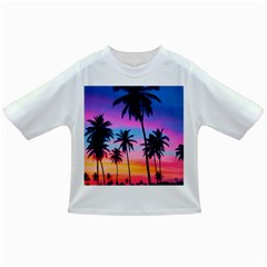 Sunset Palms Infant/toddler T-shirts by goljakoff
