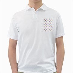 Multicolored Hands Silhouette Motif Design Golf Shirt by dflcprintsclothing