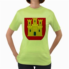 Arms Of Castile Women s Green T-shirt by abbeyz71