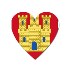 Arms Of Castile Heart Magnet by abbeyz71