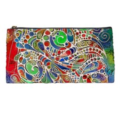 Pop Art - Spirals World 1 Pencil Case by EDDArt