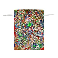 Pop Art - Spirals World 1 Lightweight Drawstring Pouch (l) by EDDArt