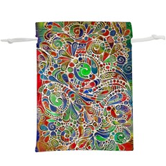 Pop Art - Spirals World 1  Lightweight Drawstring Pouch (xl)