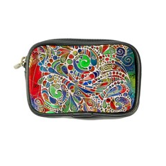 Pop Art - Spirals World 1 Coin Purse by EDDArt
