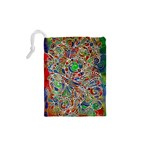 Pop Art - Spirals World 1 Drawstring Pouch (XS) Back