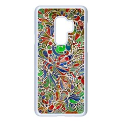 Pop Art - Spirals World 1 Samsung Galaxy S9 Plus Seamless Case(white)