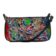 Pop Art - Spirals World 1 Shoulder Clutch Bag