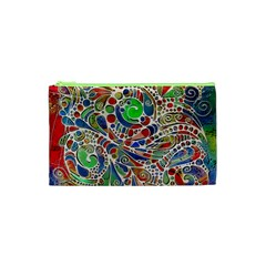 Pop Art - Spirals World 1 Cosmetic Bag (xs)