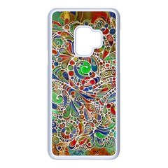Pop Art - Spirals World 1 Samsung Galaxy S9 Seamless Case(white)