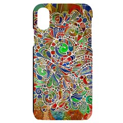 Pop Art - Spirals World 1 Iphone X/xs Black Uv Print Case