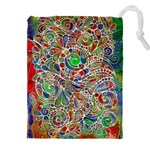 Pop Art - Spirals World 1 Drawstring Pouch (4XL) Front