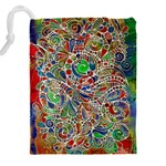 Pop Art - Spirals World 1 Drawstring Pouch (4XL) Back