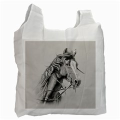 Custom Horse Recycle Bag (one Side)