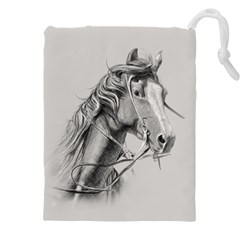 Custom Horse Drawstring Pouch (4xl) by HermanTelo