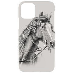 Custom Horse Iphone 11 Pro Black Uv Print Case by HermanTelo