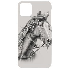 Custom Horse Iphone 11 Pro Max Black Uv Print Case by HermanTelo
