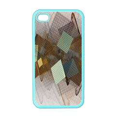 Digital Geometry Iphone 4 Case (color)