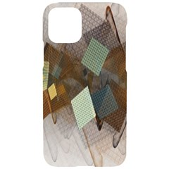 Digital Geometry Iphone 11 Pro Black Uv Print Case