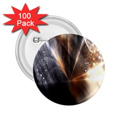Flash Light 2 25  Buttons (100 Pack)  by Sparkle