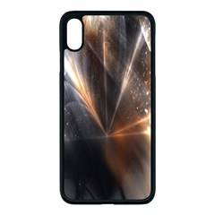 Digital Geometry Iphone Xs Max Seamless Case (black)