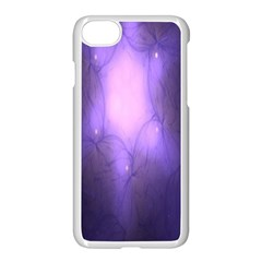 Violet Spark Iphone 7 Seamless Case (white)