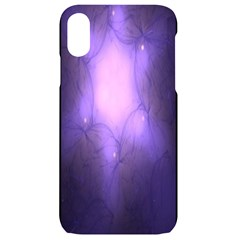 Violet Spark Iphone Xr Black Uv Print Case